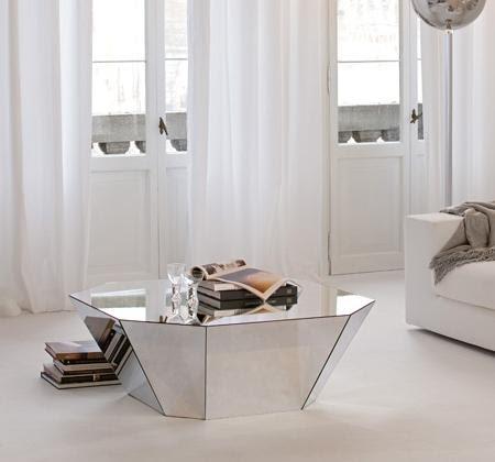 Decora con ana los muebles de espejo for Mesa espejo