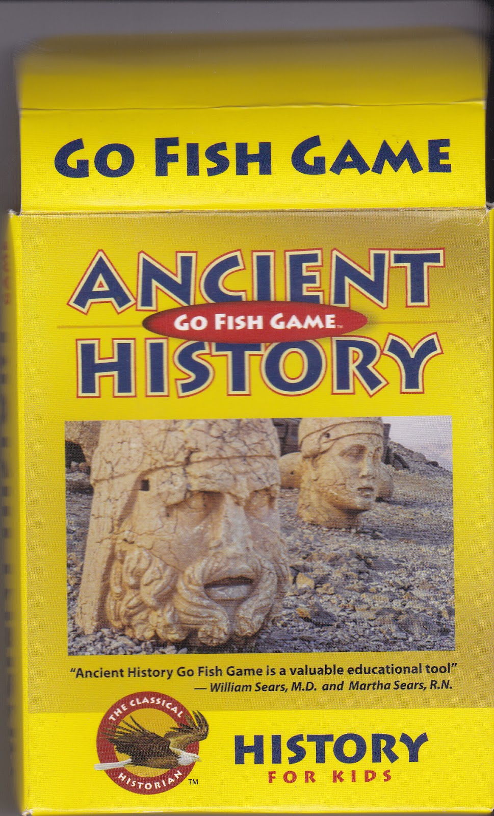 Ancient history go fish game review katie 39 s daily life for Go fish games