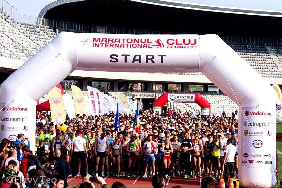 Invitaţie la Maratonul International Cluj, 19 aprilie 2015. Start