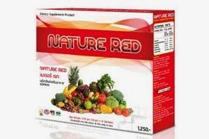 Nature Red ล้างสารพิษ ผิวพรรณสดใส