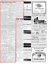 """""""ECO DI BERGAMO"""" 3 AGOSTO 1925"""