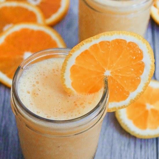 Picture of banana orange julius smoothie recipe