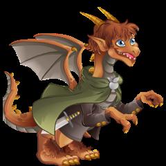 imagen del dragon tierra media