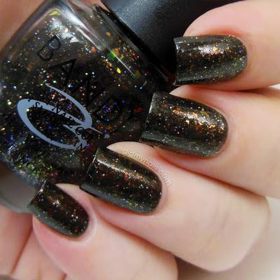 Bandi G703 Glitter Dark Khaki swatch