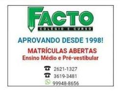 FACTO - Colégio e Curso