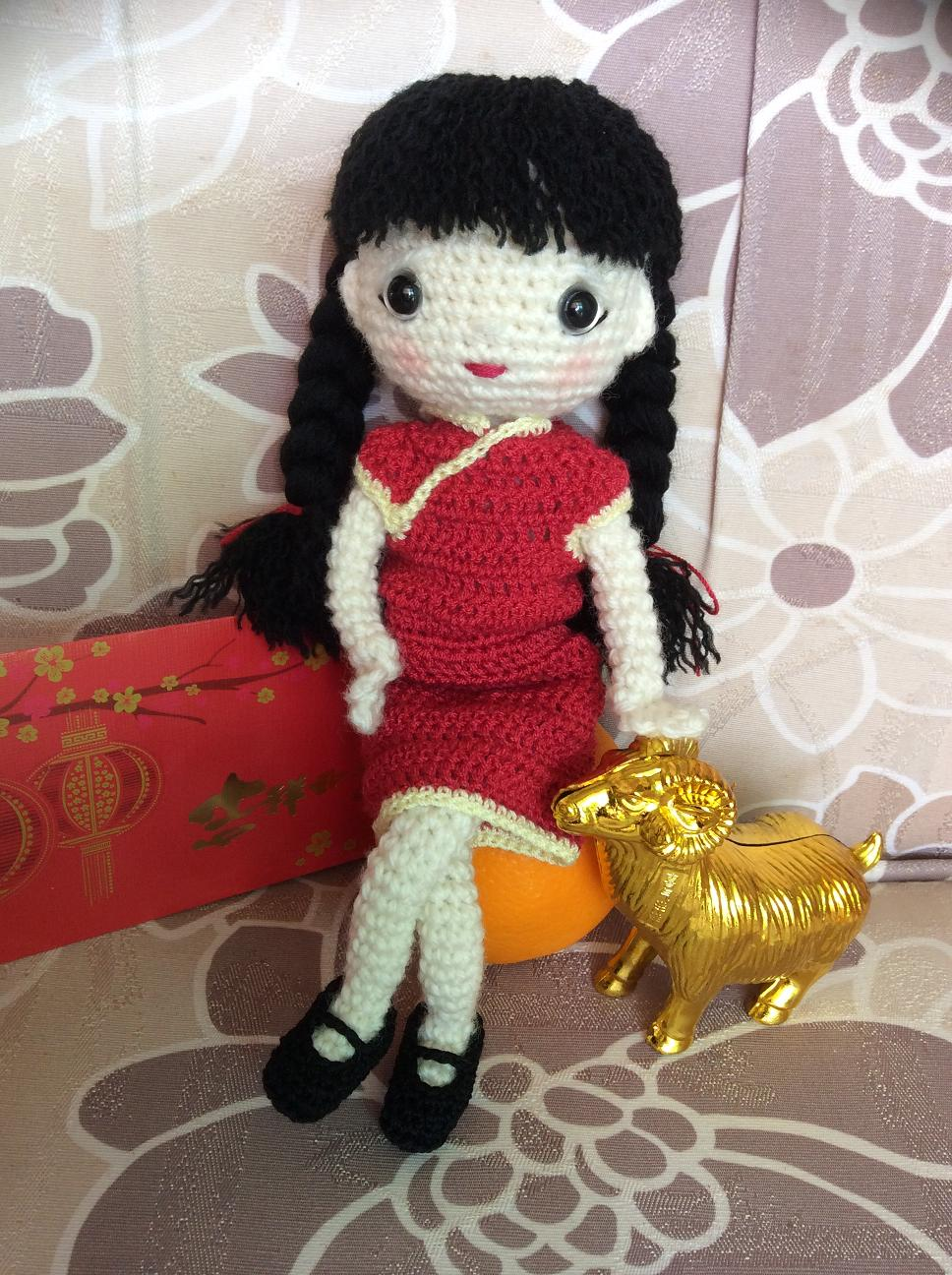The Moody Homemaker: Crochet / Amigurumi Chinese New Year Doll