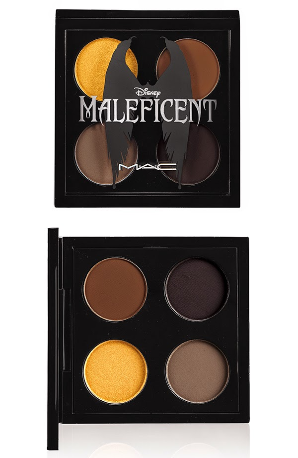MAC EYE SHADOW X 4 MALEFICENT