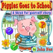 Piggles Goes To School