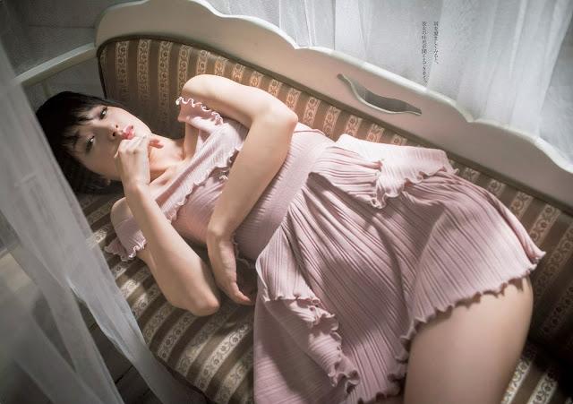 Ayame Gouriki 剛力彩芽 Weekly Playboy October 2015 Wallpaper HD