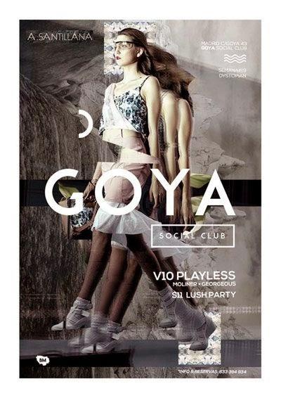 Goya Social Club (Madrid,Spain) Octubre