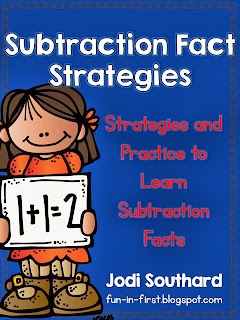 http://www.teacherspayteachers.com/Product/Subtraction-Fact-Strategies-and-Practice-580110