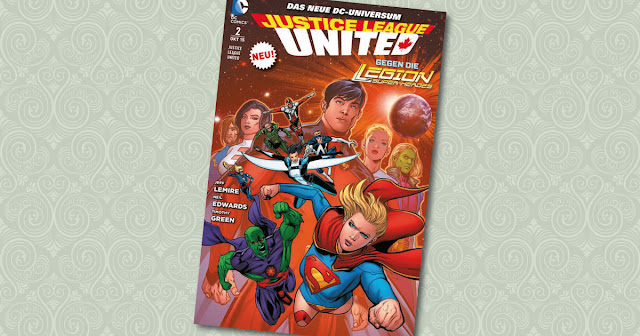 Justice League United 2 Panini Cover