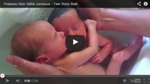 Vídeo emocionante de bebês gêmeos