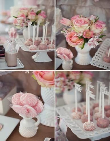 Decoração das bodas de porcelana