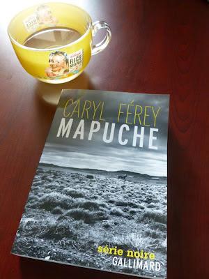 Mapuche de Caryl Férey série noire gallimard