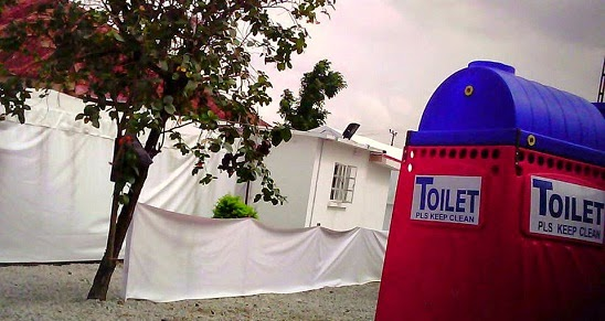 isolation center ebola victim lagos