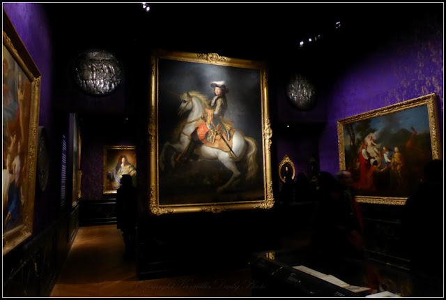 Le roi est mort portrait équestre de Louis XIV Houasse