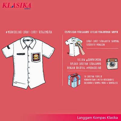 Kontes #MudaKuliah Berhadiah 10 Merchandise Kompas Klasika