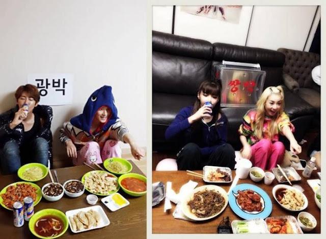 Kwanghee, Siwan, 2NE1
