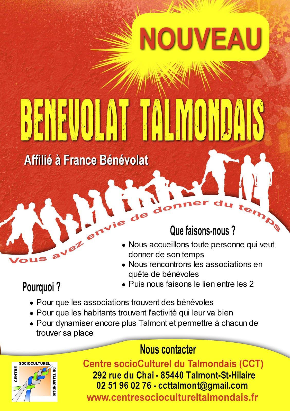 Devenir bénévole : à Talmont, c'est possible!
