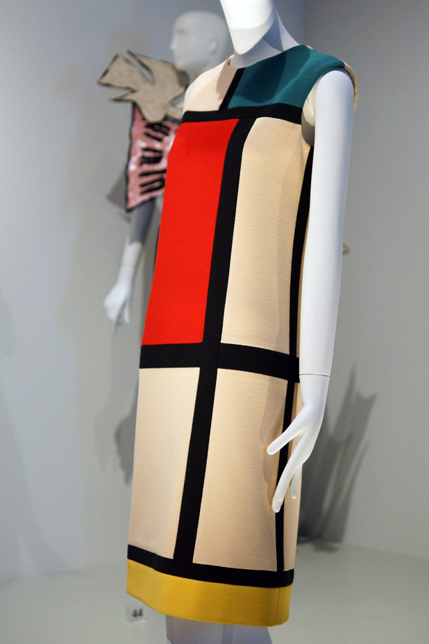 Hello Freckles YSL Style Is Eternal Bowes Museum Exhibition Mondrian Dress