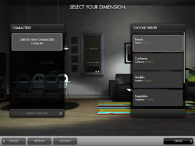 The Secret World - Selecting Dimension