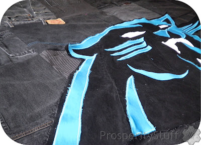 ProsperityStuff Jeans Panthers Quilt angle