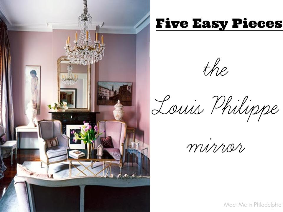 five easy pieces_the louis philippe mirror via Meet Me in Philadelphia