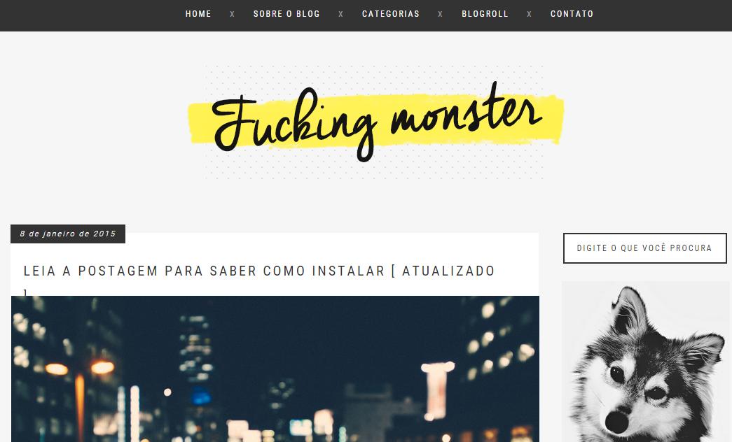 Famosos Claramente Insana: Os melhores layouts free para blogger CX44