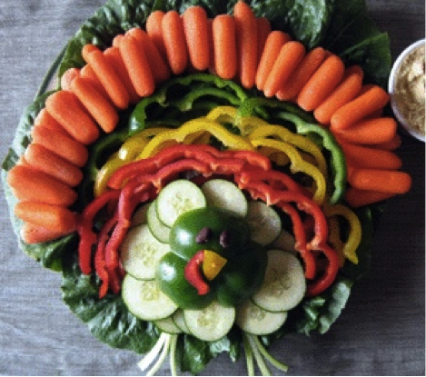 Happily Ever Crafter Pinterest Fail Veggie Turkey Tray