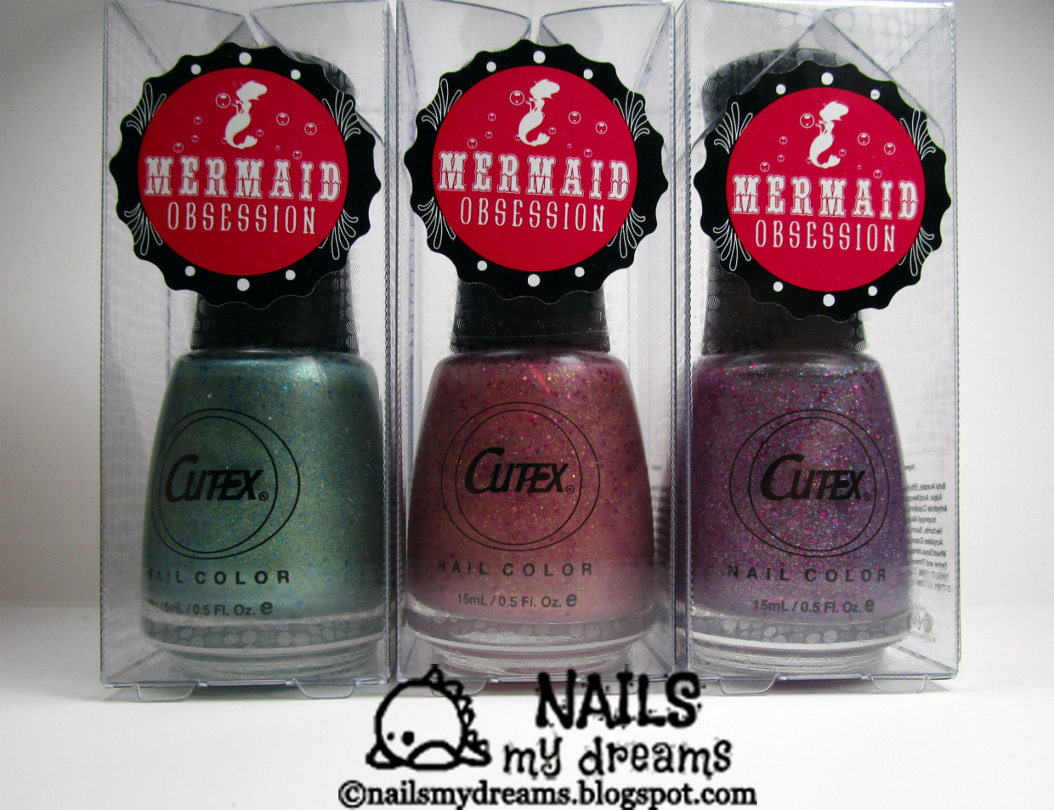 Nails My Dreams: Cutex Mermaid Obsession Collection - Bubble Guppies ...