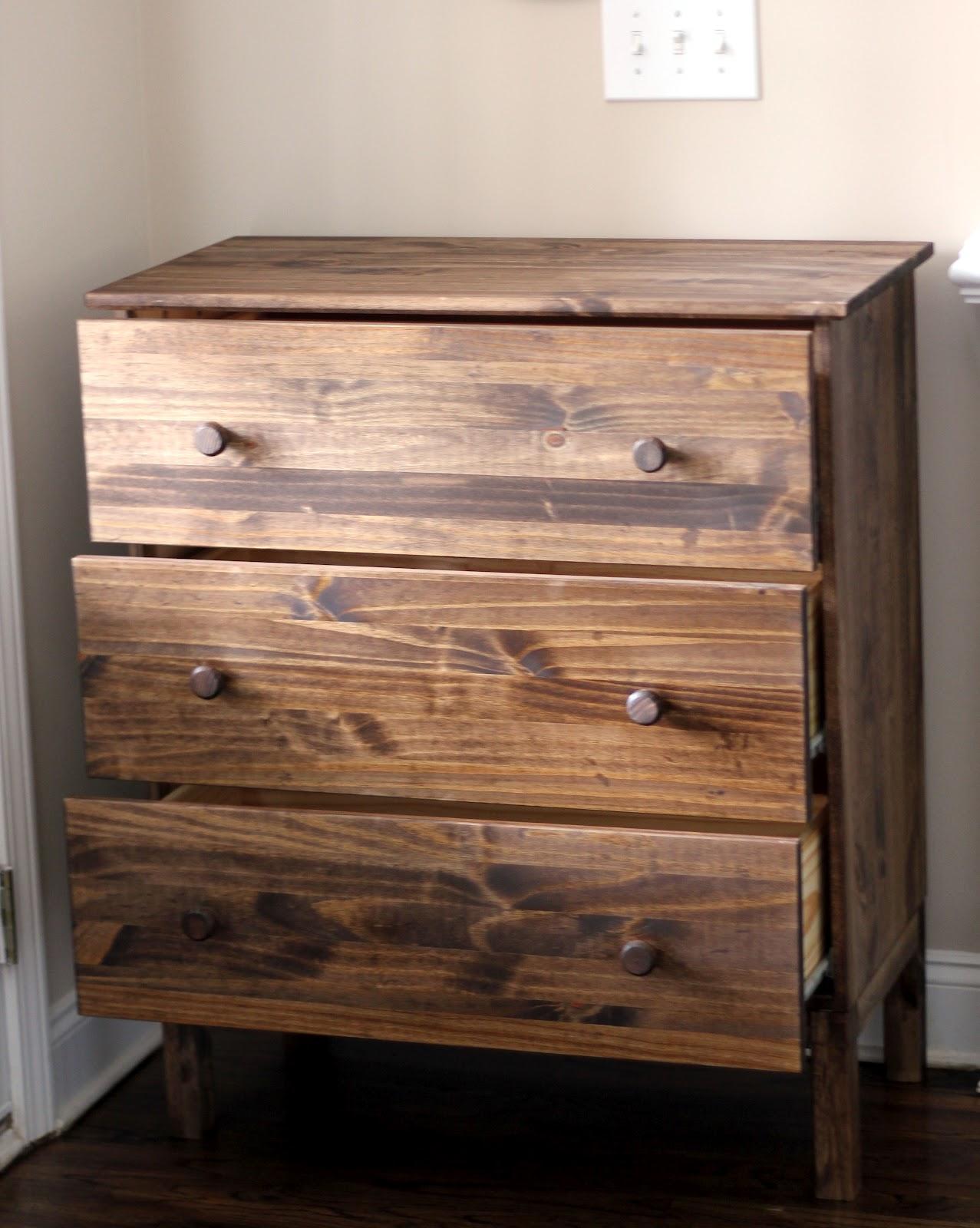 my enroute life ikea tarva turned knock off anthro ordinal dresser. Black Bedroom Furniture Sets. Home Design Ideas