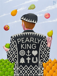 Jimmy meets a Pearly King – London 2012