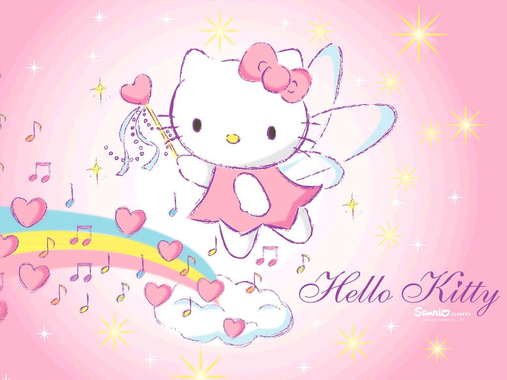 3d happy birthday wallpaper free 3d wallpaper download - Hello kitty hello ...