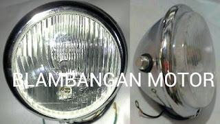 Reflektor H4 model Harley