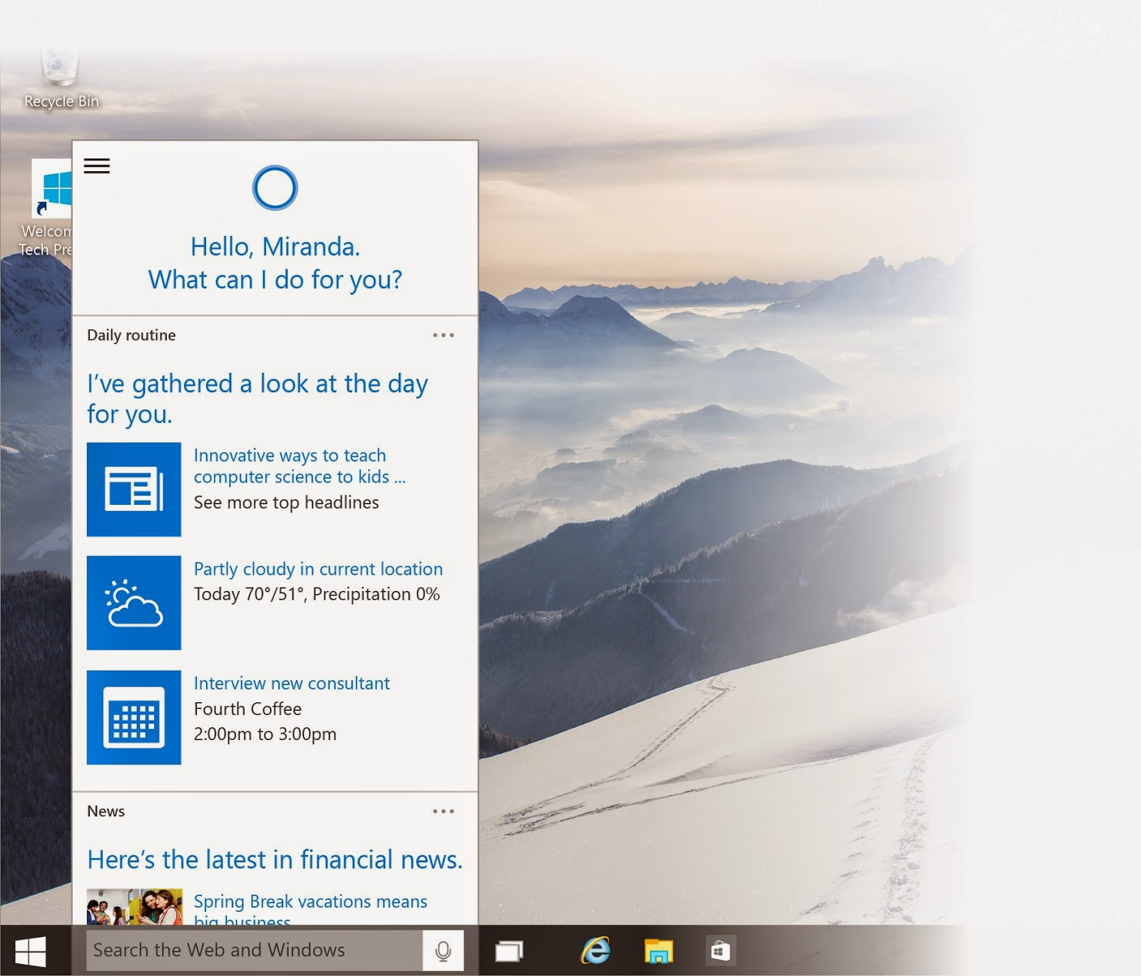 Download Windows 10 Build 9926 Terbaru