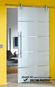modern barn door hardware - glass sliding doors interior