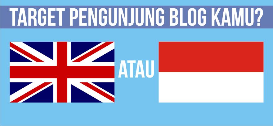Cara Menargetkan Negara Pengujung Blog