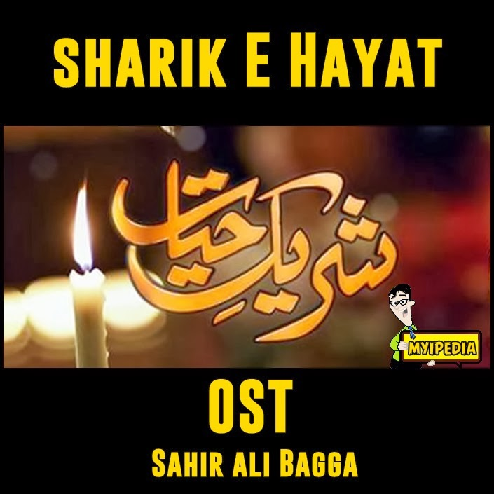 Here is the ost audio for shareek e hayat in the voice of sahir ali