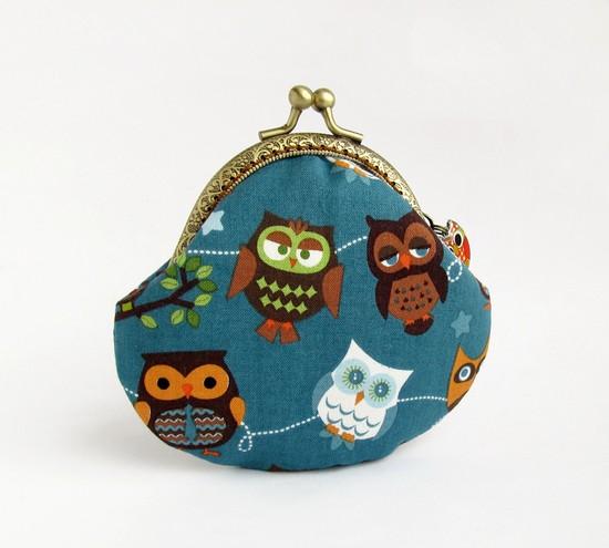 Owls, кошелек с совами