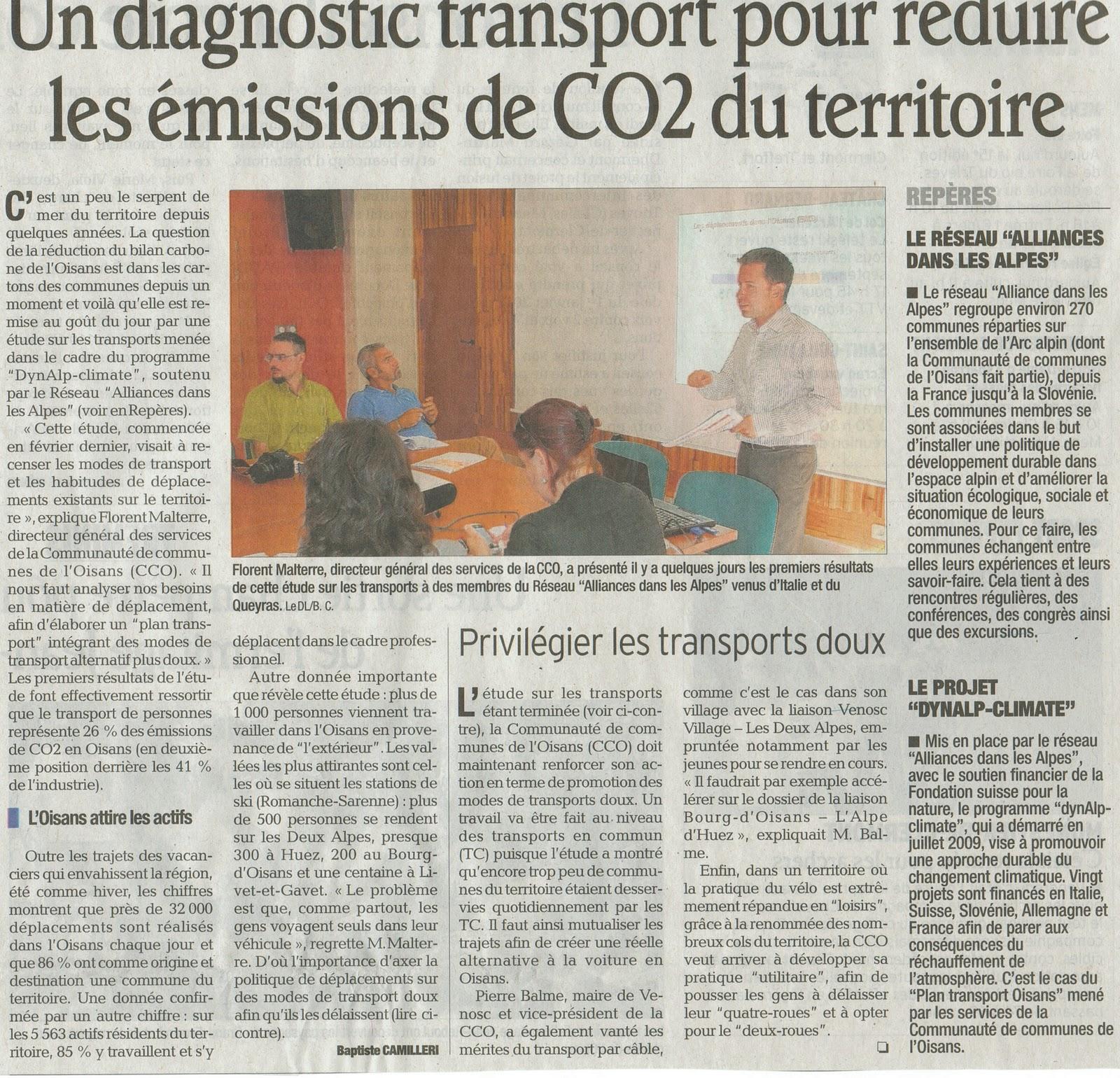News de l 39 office de tourisme bourg d 39 oisans septembre 2011 - Bourg d oisans office tourisme ...