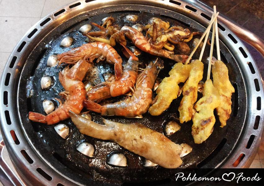 Enders Gasgrill Johor : Segambut lok lok wok steamboat & bbq grill restaurant pohkemon