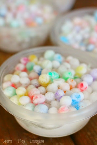 How to free water beads for sensory play