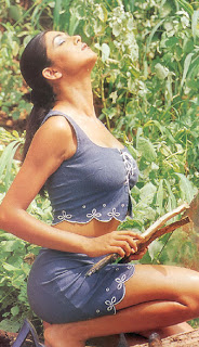 Susmita Sen in Grey Short SKirt in a Farm House near Mumbai