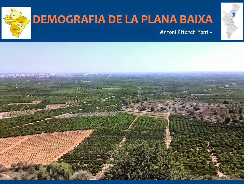 Demografia de La Plana Baixa