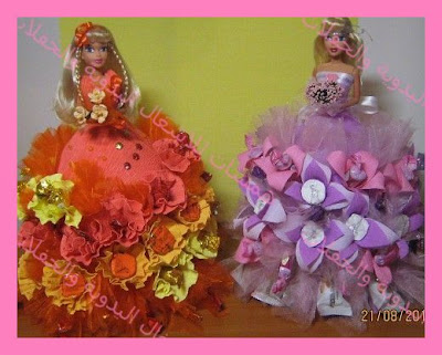 Как можно сделать платье из цветов