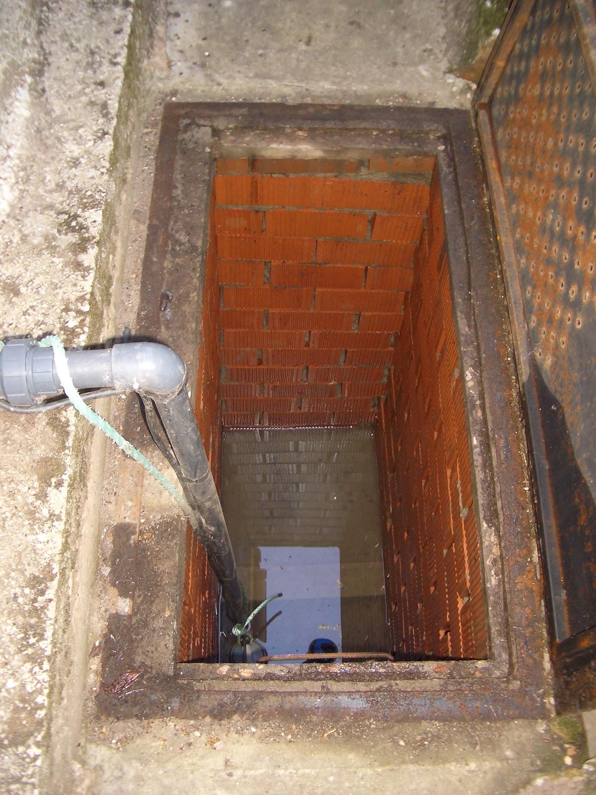 Peritararquitectura pozo de control de nivel fre tico - Bombas de achique de agua ...