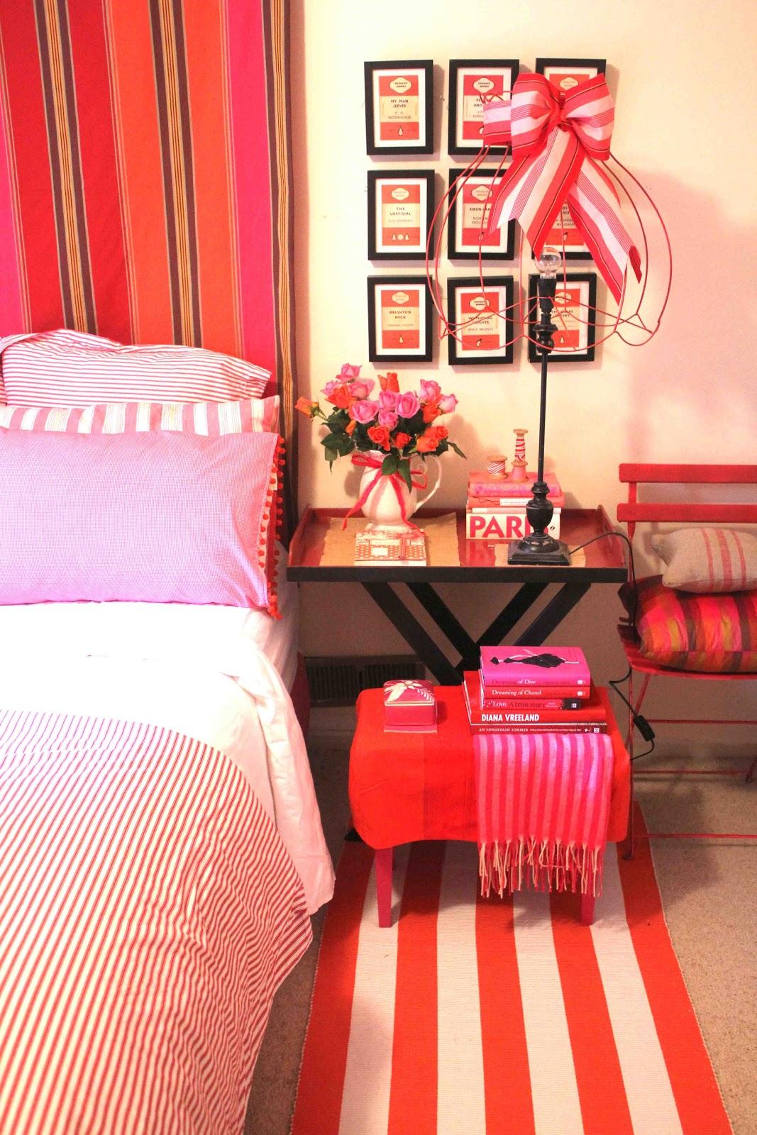 Orange And Pink Bedroom A Library Of Design Orange You Glad Orange Is In