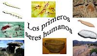 Los primeros seres humanos.