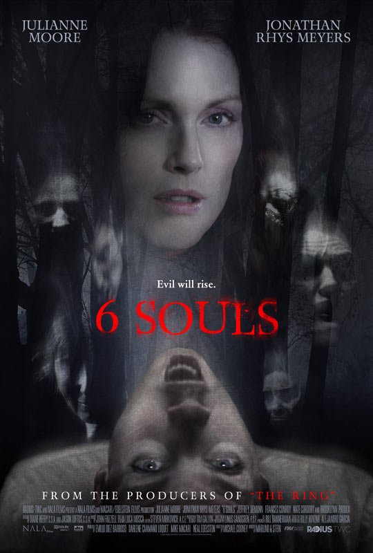 6 Souls - Evil will Rise - Poster (2013)